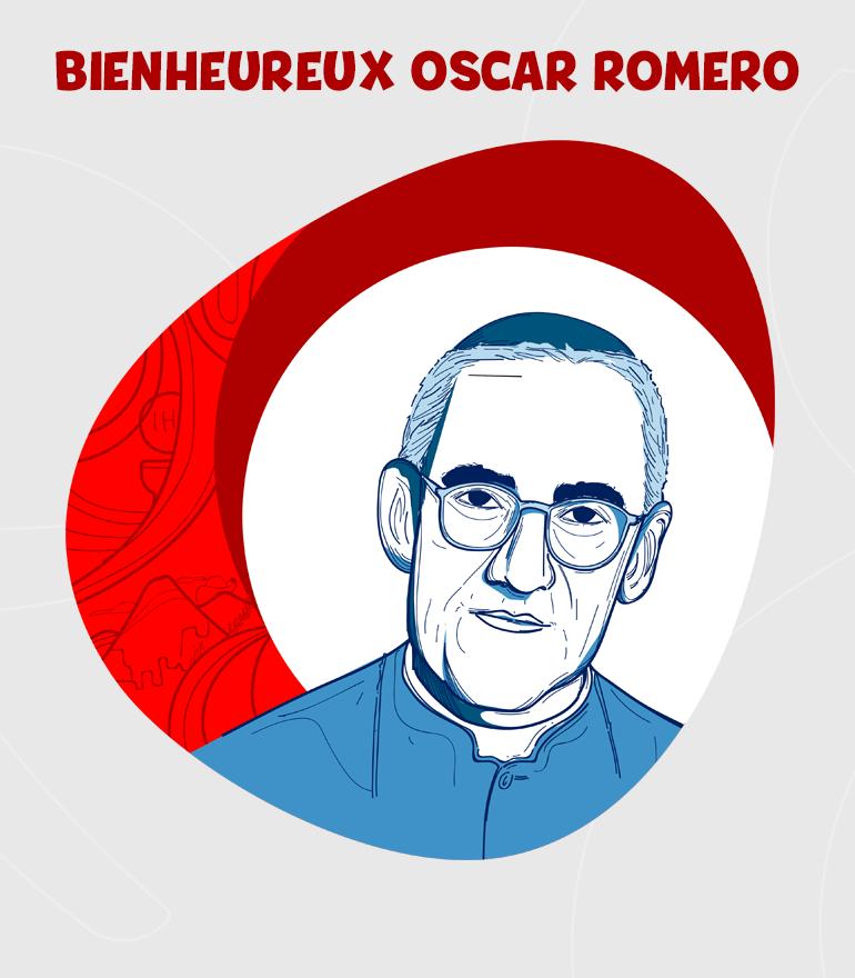 BEATO OSCAR ARNULFO ROMERO DIBUJO-FR