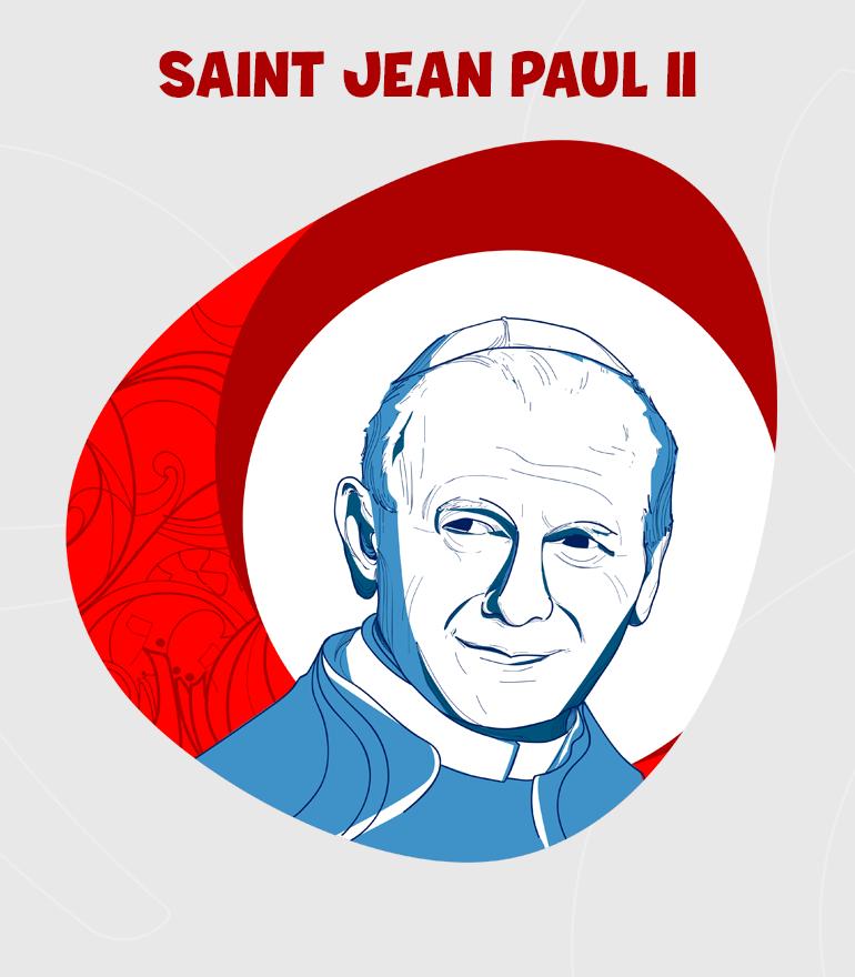 SAN JUAN PABLO II DIBUJO-FR