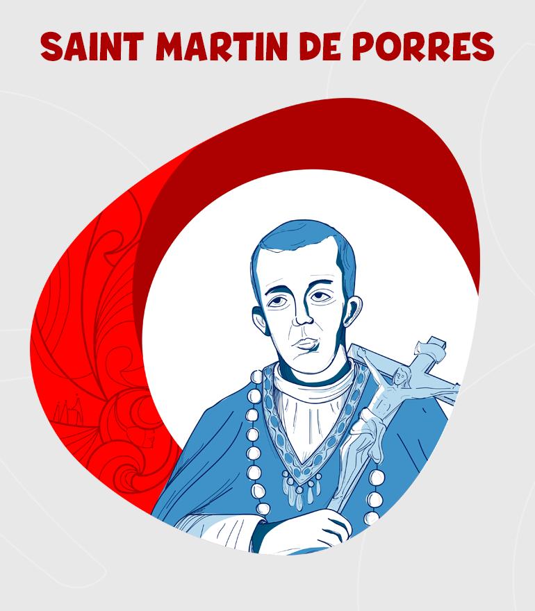 SAN MARTÍN DE PORRES DIBUJO-FR