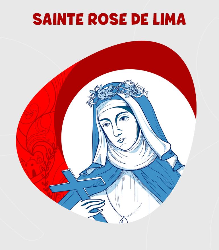 SANTA ROSA DE LIMA DIBUJO-FR